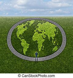 accesso, globale, mercati