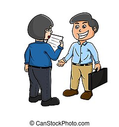 meet with the client