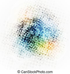 Colorful grunge halftone texture background Vector eps10...