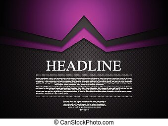 Vibrant corporate abstract background