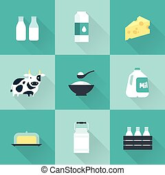 vector milk icon - dairy flat illustration vector milk icon...