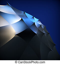 Abstract background. 3d illustration.