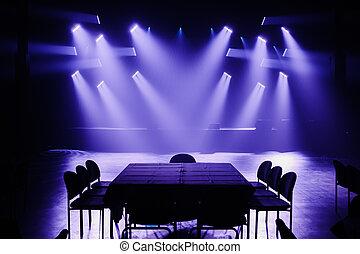 Big Light Setup Ready for a Private Show - Big Light Setup...