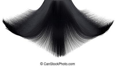cabelo, Queda, Quadro, congelar