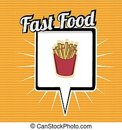 Fast Food design, vector illustration. - Fast Food design...