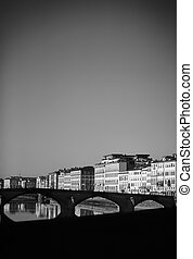 Arno river - Florence. Italy