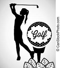 sport design, vector illustration - sport design over white...