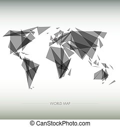geometric map of the world