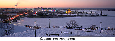 Evening Nizhny Novgorod Russia