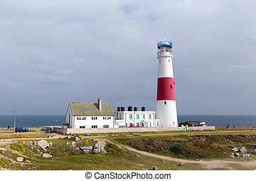 Portland Bill Lighthouse Isle uk - Portland Bill Lighthouse...
