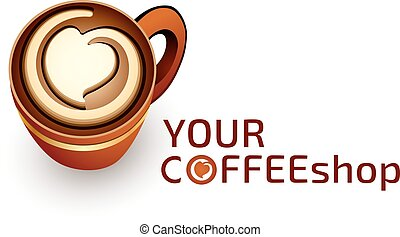 logo template - Logo template coffee or cafe business,...