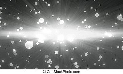bokeh glow background forward Black white - bokeh glowing...