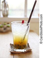 Passionfruit juice