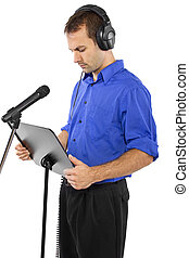 Male Voice Over Artist or Singer - male voice over artist or...