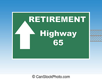 Retirement Highway 65 - Retirement highway 65 directional...