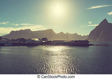 Lofoten island, Norway