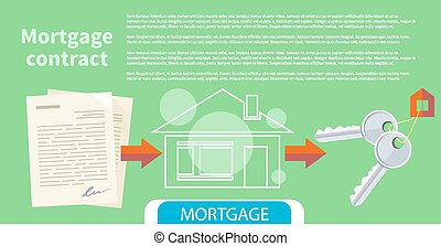 Approved mortgage loan application