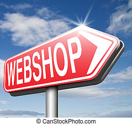 webshop online shopping at internet web shop buy and sell...