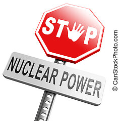 no nuclear power stop radio activity radio active waste from...