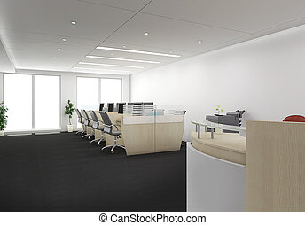 3d Office - Reception