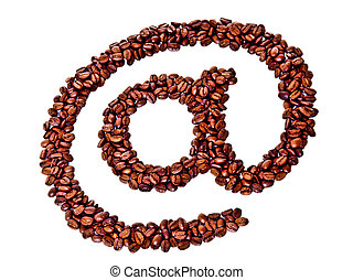 coffee beans alias symbol