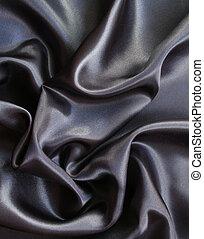Smooth elegant grey silk as background - Smooth elegant grey...