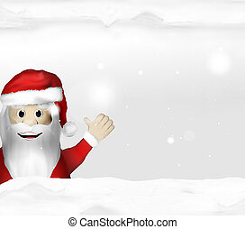 Festive snow winter scenery background graphic