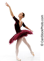 bailarina, Executar,