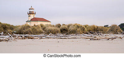 Bullards Beach Coquille River Lighthouse Bandon Oregon...