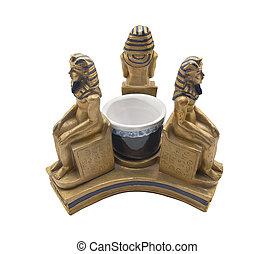 Faraoner, statyett