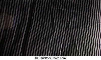 light background black white stripe fabric wrinkled texture...