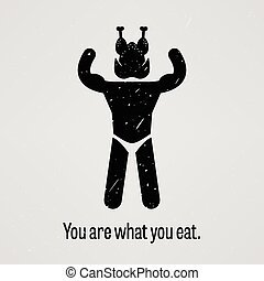 You are What You Eat Muscle Version