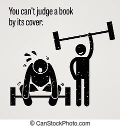 You Cannot Judge a Book by its Cove - A motivational and...