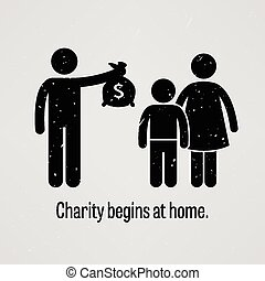 Charity Begins at Home - A motivational and inspirational...