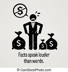 Facts Speak Louder Than Words - A motivational and...