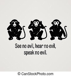 See no Evil, Hear no Evil, Speak no - A motivational and...