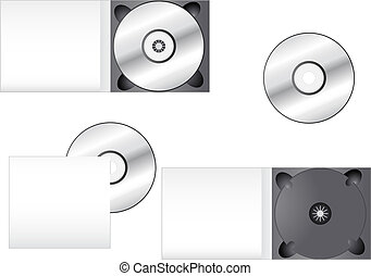 Multimedia CD Packaging - CD and its box into different...