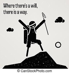 Where There is a Will, There is a W - A motivational and...