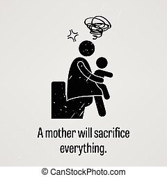 A mother will sacrifice everything - A motivational and...