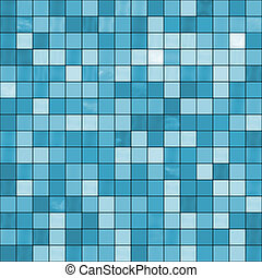 Large seamless blue tiles background, ready for texturing,...