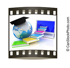 Global On line Education. The film strip