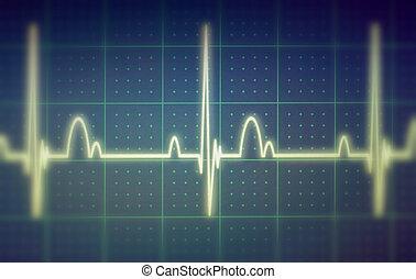 ecg, /, EKG, hydromonitor,