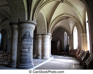Canterbury Cathedral Crypt - The crypt of Canterbury...