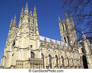 Canterbury Cathedral in Canterbury Kent was founded by St...
