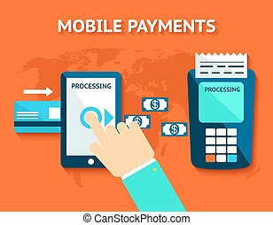 Mobile payments and near field communication, NFC - Mobile...