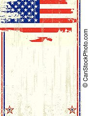 USA scratched background