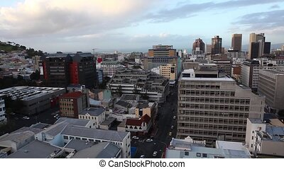 Panoramic View of Cape Town - A north-looking panoramic view...