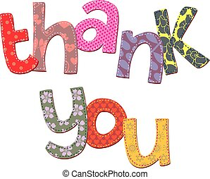 Thank You Text Clip Art - Thank you text expression clip art...