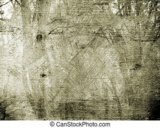 Background texture with a forest landscape