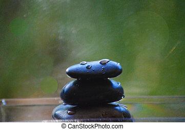 Zen stones balance concept picture